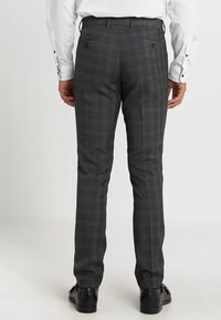 Lindbergh - MENS SUIT SLIM FIT - Completo - grey check - 5