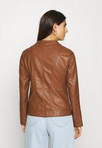 Soyaconcept - SC-AMALIE 4 - Faux leather jacket - brown - 2