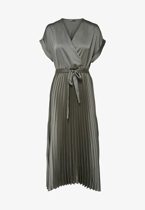 Cocktail dress / Party dress - charcoal gray