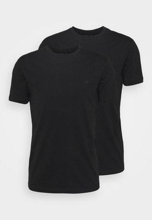 SET 2 PACK - Basic T-shirt - nero
