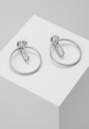 EARRINGS - Náušnice - silver-coloured