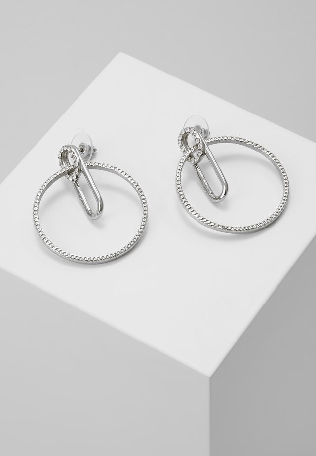 EARRINGS - Korvakorut - silver-coloured