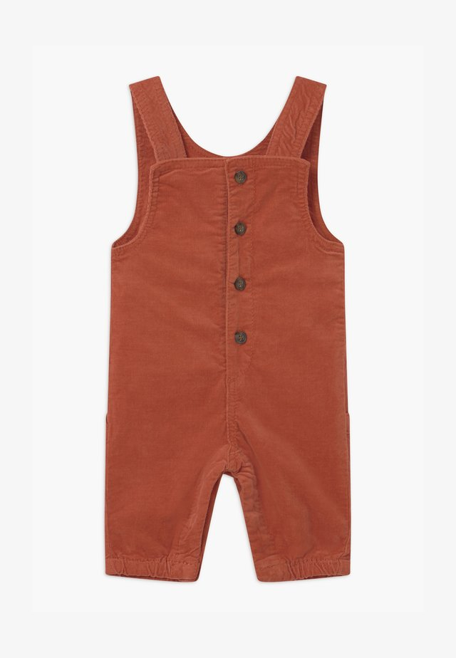 NBMROBIN BABY - Dungarees - burnt brick