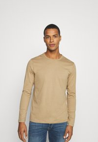 Burton Menswear London - LONG SLEEVE CREW 2 PACK  - Long sleeved top - dark blue - 1