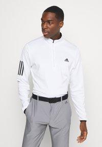 adidas Golf - Top sdlouhým rukávem - white - 0