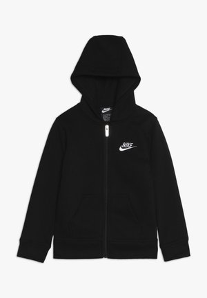 CLUB HOODIE - veste en sweat zippée - black