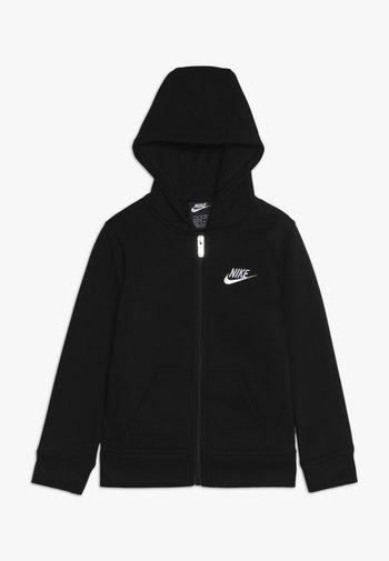 CLUB HOODIE - Zip-up sweatshirt - black