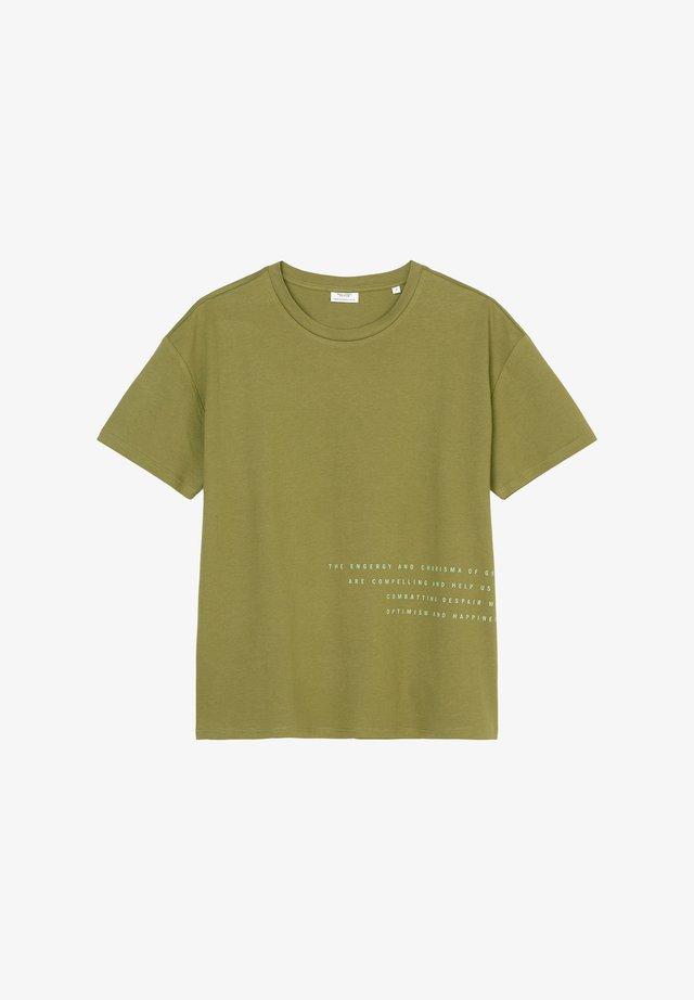 T-shirt print - fresh herbs