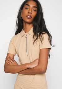 ONLY - ONLEMMA DRESS - Jersey dress - ginger root - 3
