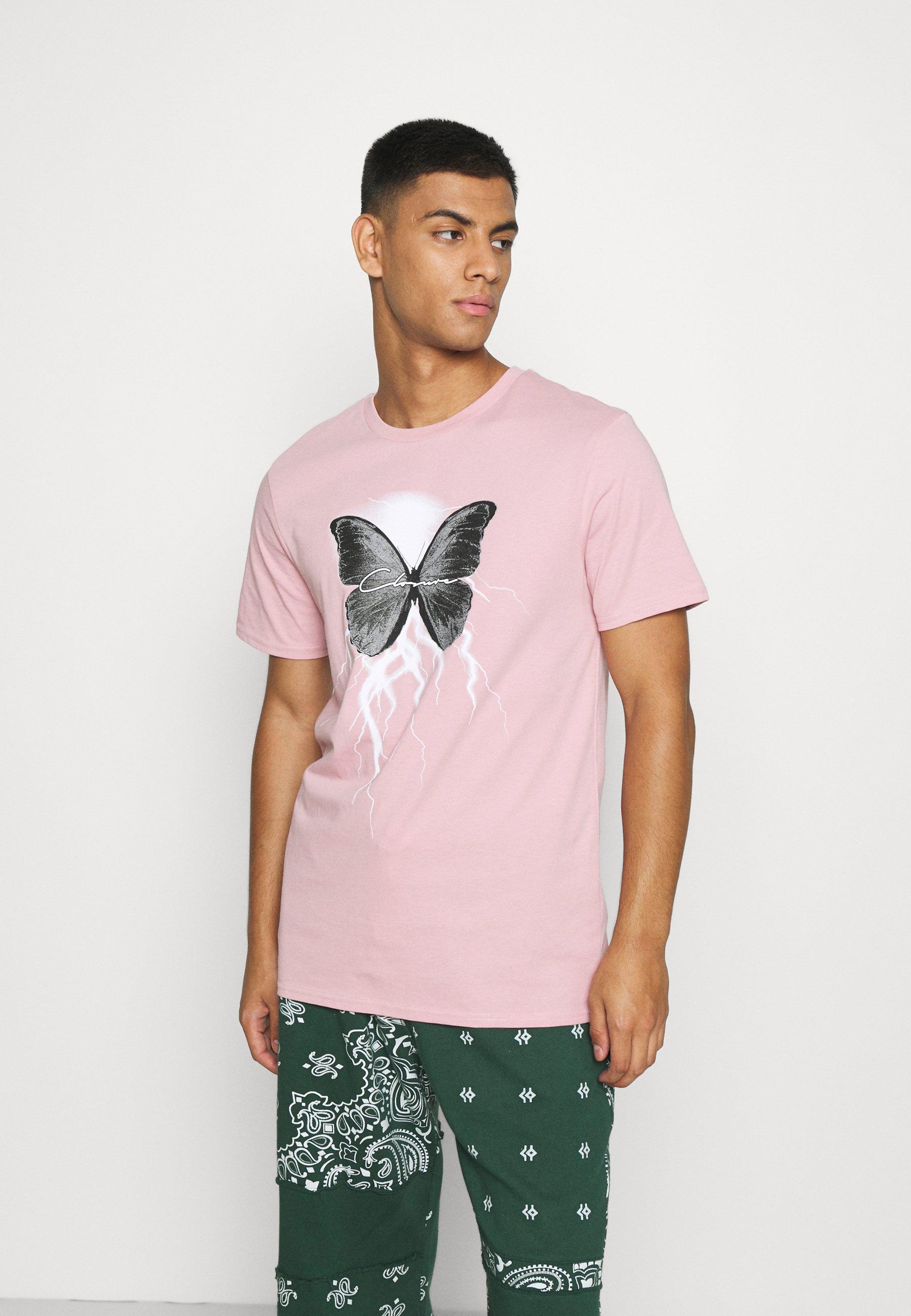 Homme BUTTERFLY TEE - T-shirt imprimé