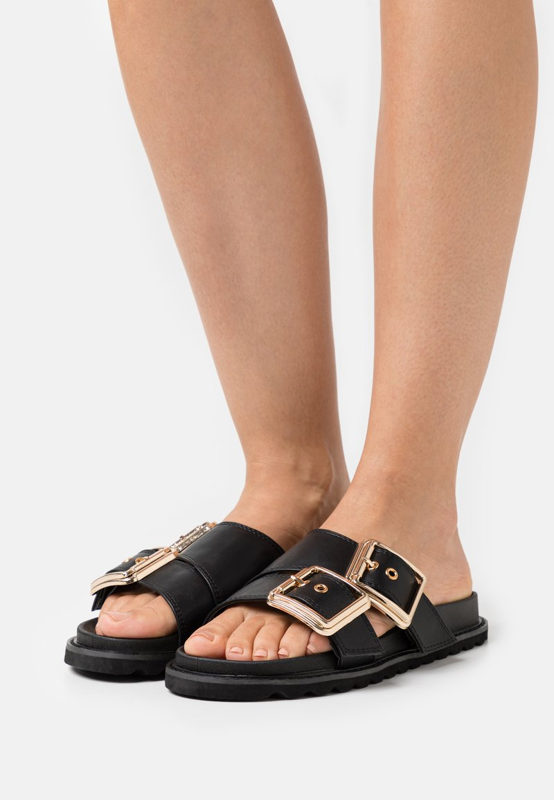 Glamorous Wide Fit - STU - Mules - black