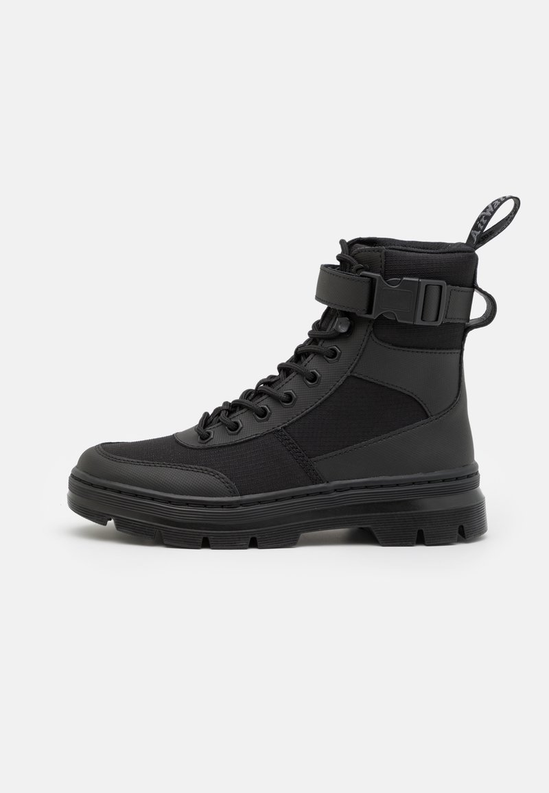 Dr. Martens - COMBS TECH -8 EYE BOOT UNISEX - Lace-up ankle boots - black