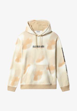 B-AIRBRUSH H AOP - Hoodie - beige camou