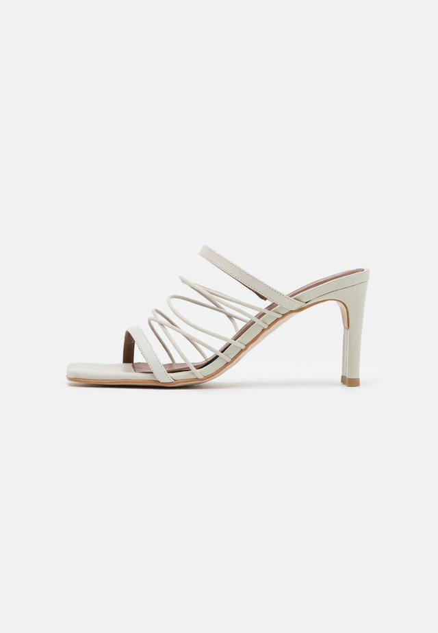 SUNBEAM - Heeled mules - offwhite