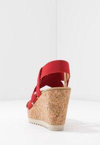 Gabor - High heeled sandals - flame - 5