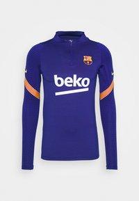 FC BARCELONA DRY  - Klubové oblečení - deep royal blue/amarillo