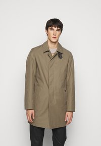 Trussardi - COAT REGULAR FIT - Classic coat - caribou - 0