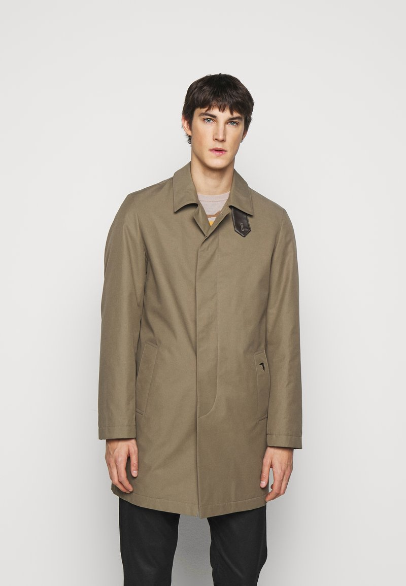 Trussardi - COAT REGULAR FIT - Classic coat - caribou