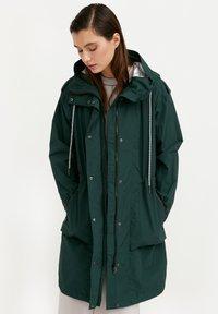 Finn Flare - Waterproof jacket - dark green - 0
