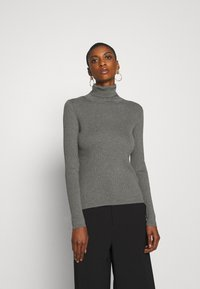 Marc O'Polo - RIB STRUCTURE - Jumper - middle stone melange - 0