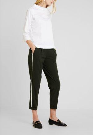 MELOSA PIN - Trousers - oliv green