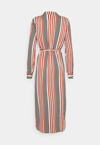 Vero Moda - VMNIVA DRESS - Shirt dress - chutney/black/birch - 1