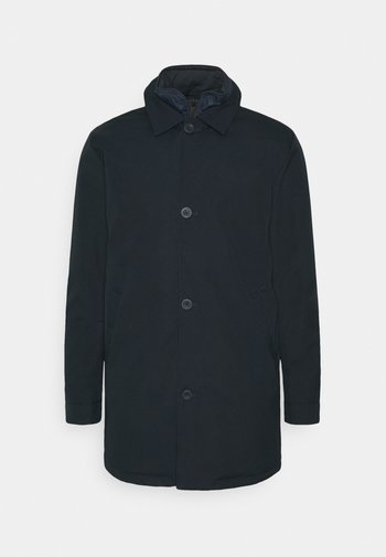 CLIMATE SHELL JACKET WITH BUTTONS - Parka - total eclipse
