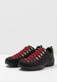 Scarpa - MOJITO ROCK - Zapatillas de senderismo - black - 2