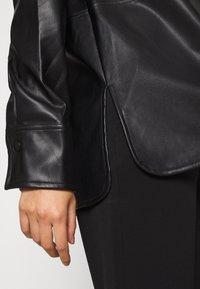 Gina Tricot - ANNIE - Button-down blouse - black - 4