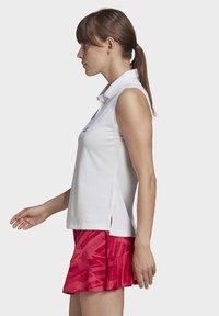 adidas Performance - TENNIS MATCH TANK TOP HEAT.RDY - Polo shirt - white - 3