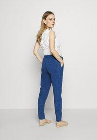 Gebe - TROUSERS FLORANCE - Kalhoty - indigo blue - 2