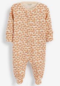 Next - 3 PACK - Sleep suit - brown - 4