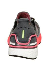adidas Performance - Stabilty running shoes - grey five / silver metallic / signal pink - 3