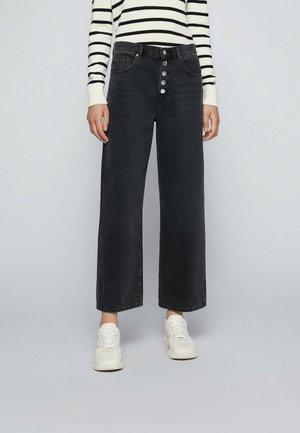 Straight leg jeans - anthracite