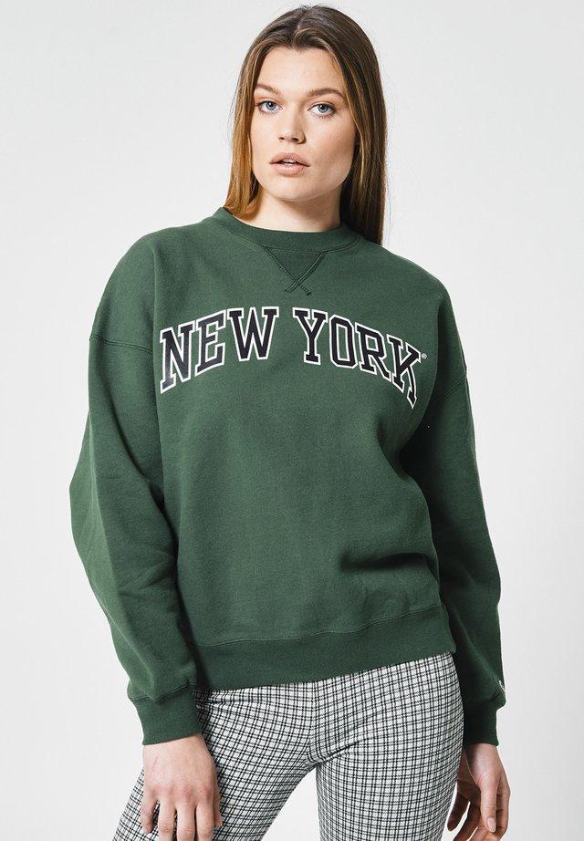 SUE - Sweater - bottle green