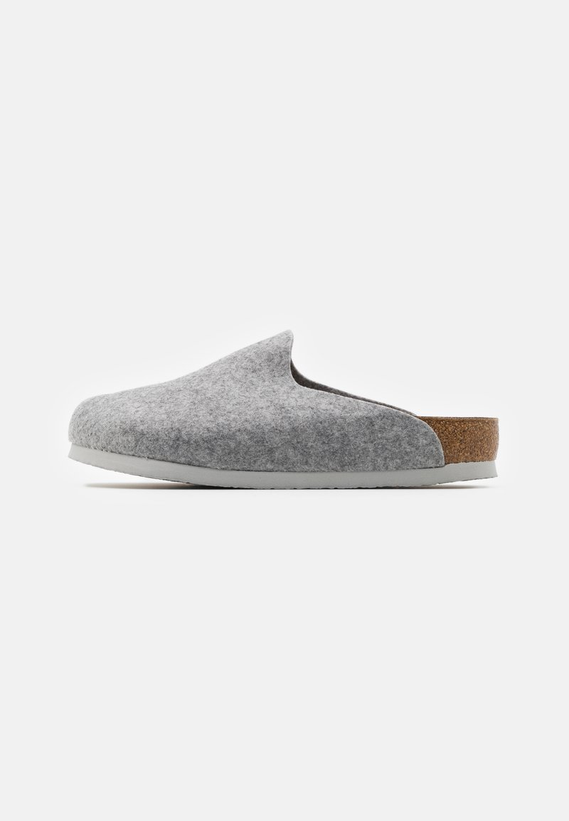 Birkenstock - AMSTERDAM VEGAN UNISEX - Slippers - light gray