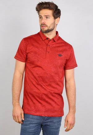 Polo - rusty red