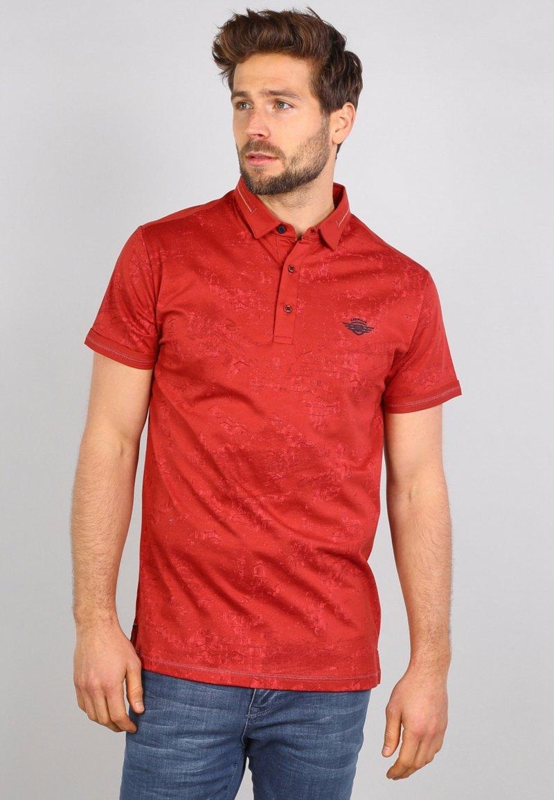 Gabbiano - Polo shirt - rusty red
