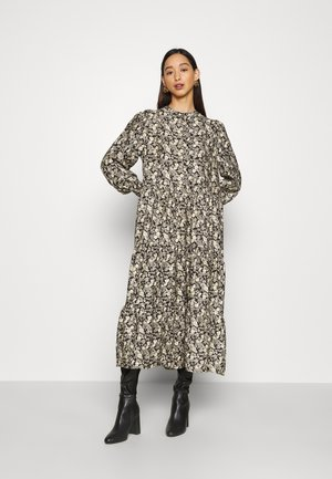 ENDOWNING DRESS  - Maxi dress - black/off-white