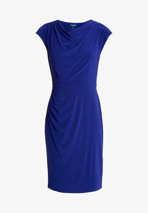MID WEIGHT DRESS - Etuikleid - cannes blue