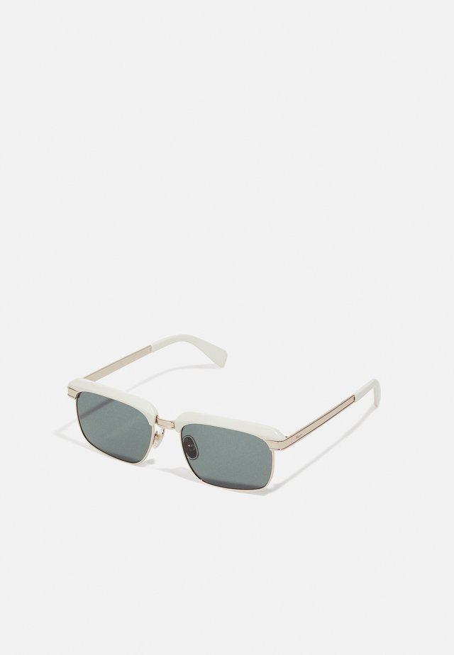 UNISEX - Sluneční brýle - white/gold-coloured