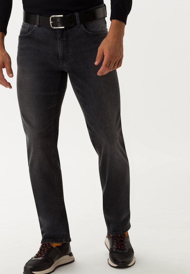 STYLE COOPER - Straight leg jeans - dark grey used