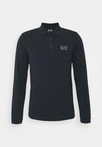 Polo shirt - dark blue/silver