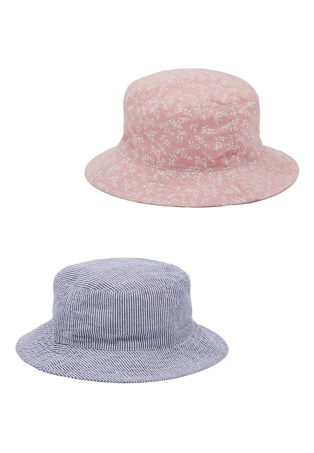 2 PACK DITSY FISHERMAN'S HATS - Klobouk - pink