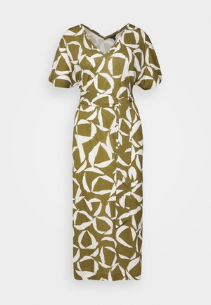 CRESENT BLOOM DRESS - Jersey dress - olive green