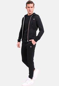 le coq sportif - ESS FZ - Zip-up hoodie - black - 1