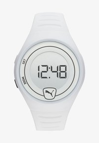 Puma - FASTER - Digital watch - white - 0