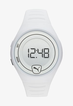 FASTER - Digital watch - white