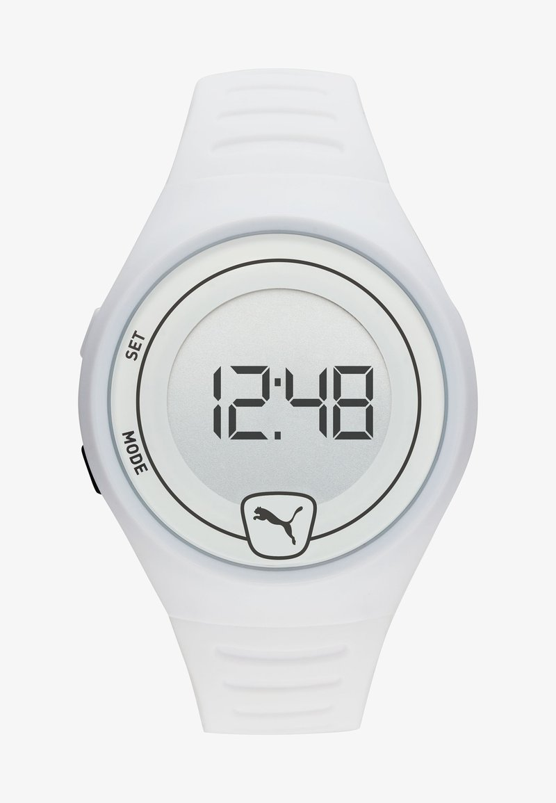 Puma - FASTER - Digitaluhr - white