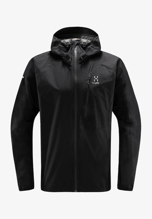 JACKET MEN - Hardshell jacket - true black